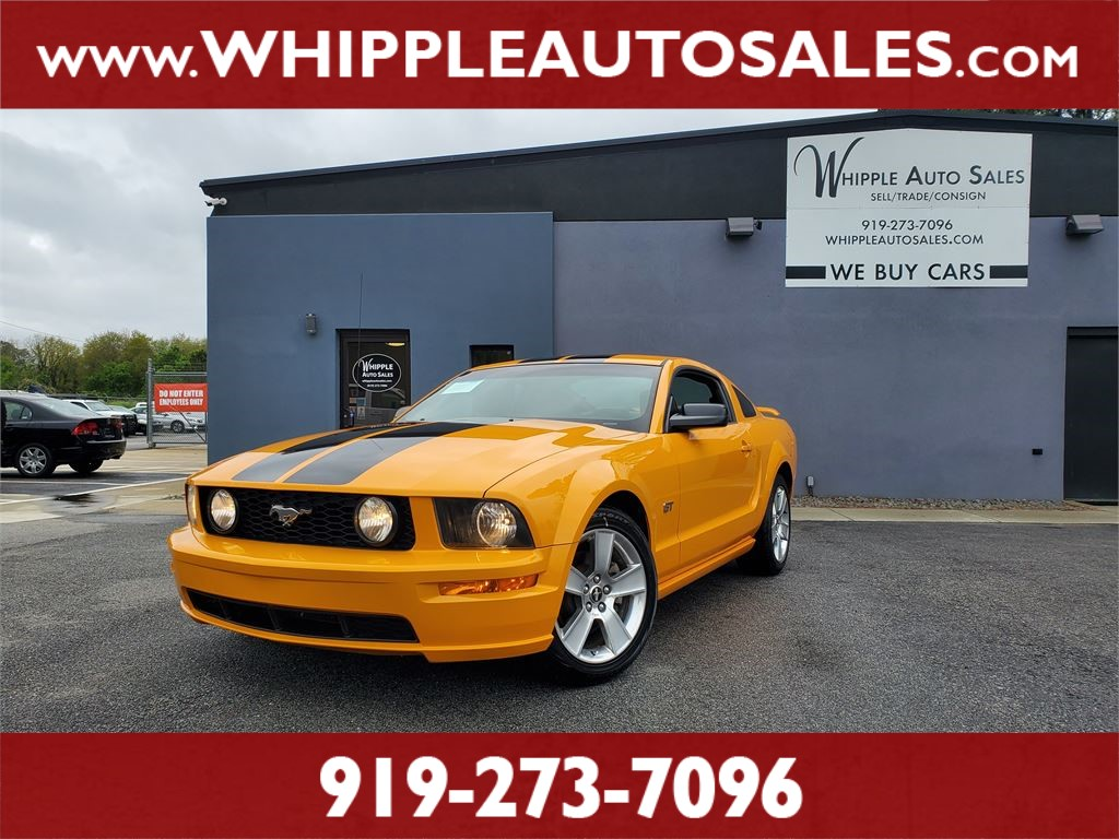 2007 FORD MUSTANG GT PREMIUM for sale by dealer