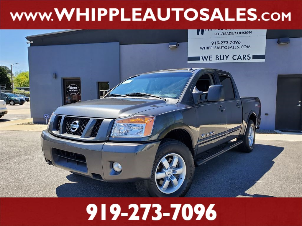 2011 NISSAN TITAN PRO-4X CREWCAB for sale by dealer