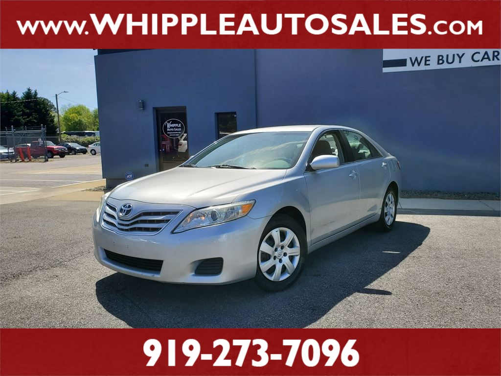 2010 TOYOTA CAMRY LE for sale by dealer