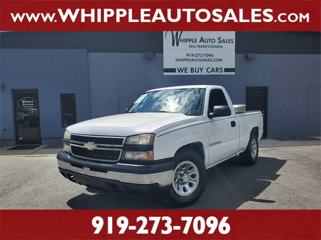 2006 CHEVROLET SILVERADO LS for sale by dealer