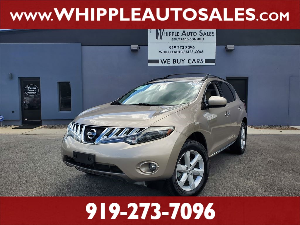 2009 NISSAN MURANO SL (1-OWNER) for sale by dealer