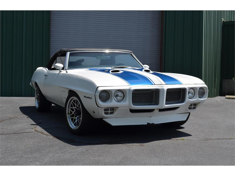 1969 Pontiac Firebird Convertible for sale by dealer