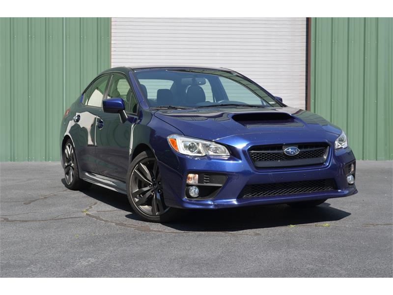 2016 Subaru WRX Premium 6M for sale by dealer