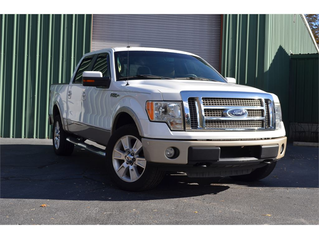 2010 ford f 150 lariat supercrew 5 5 ft bed 4wd