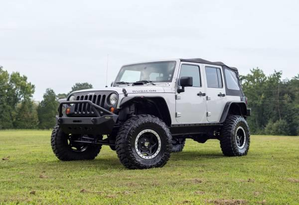 2008 Jeep Wrangler Unlimited Rubicon for sale by dealer