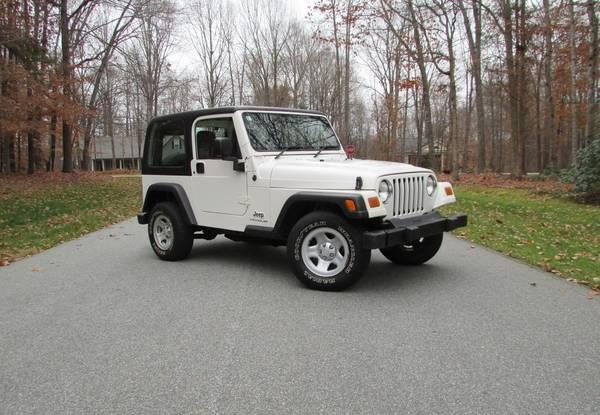 2003 Jeep Wrangler Sport for sale in Stokesdale