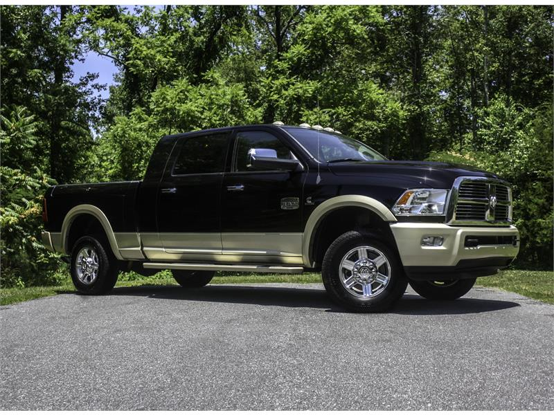 2012 RAM 3500 Laramie Longhorn Mega Cab 4WD for sale by dealer