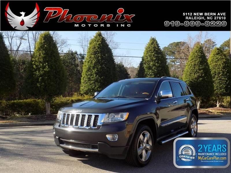 2011 Jeep Grand Cherokee Overland 4x4 4dr SUV for sale by dealer