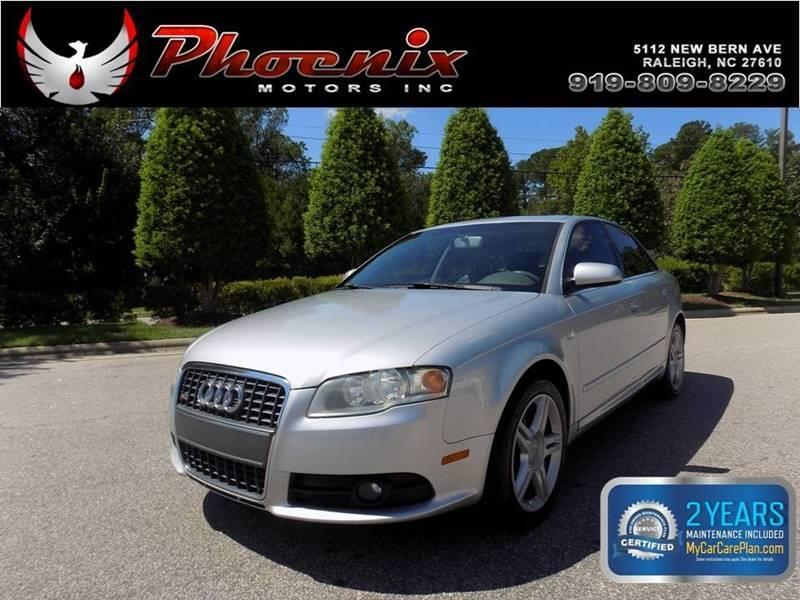 2008 Audi A4 2.0T quattro AWD 4dr Sedan (2L I4 6A) for sale by dealer