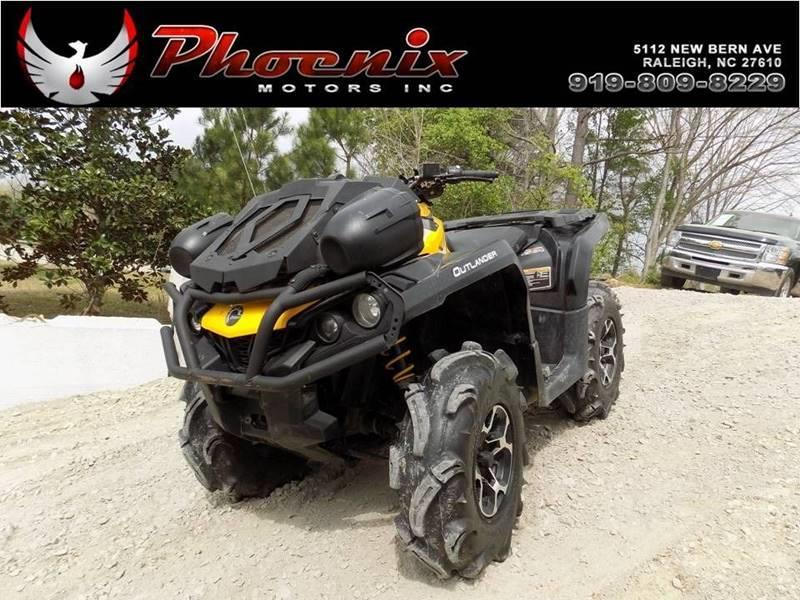 2015 Can-Am Outlander 650 X MR for sale by dealer