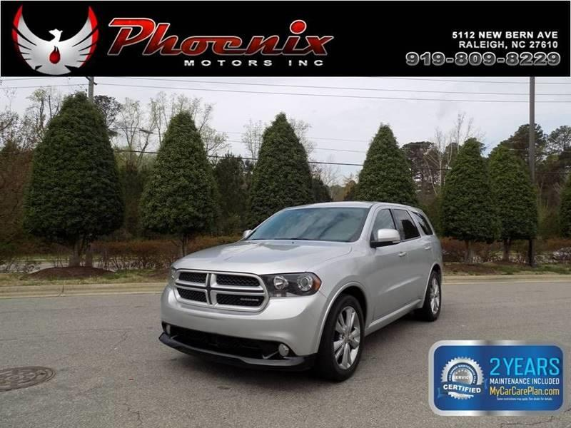 2011 Dodge Durango R/T 4dr SUV for sale by dealer