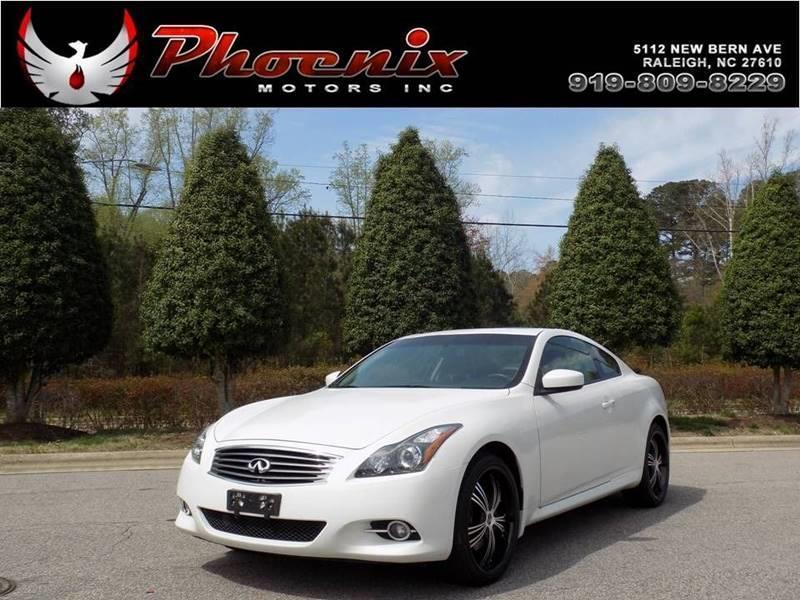 2013 Infiniti G37 Coupe x AWD 2dr Coupe for sale by dealer