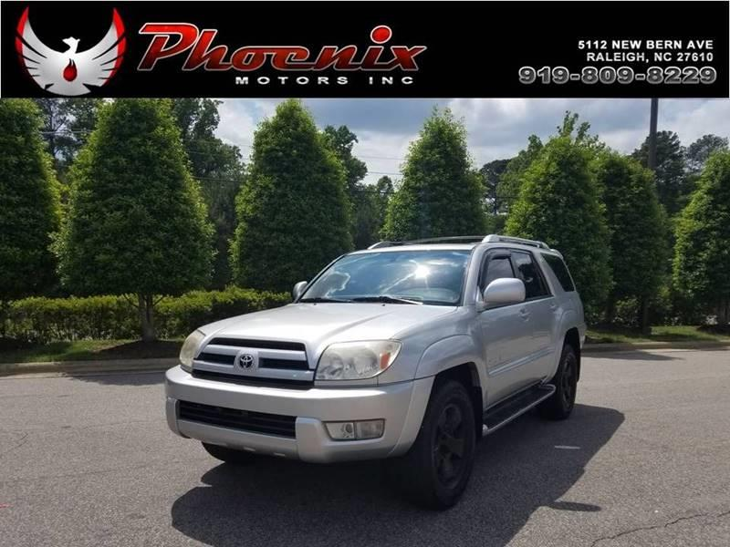 2004 Toyota 4Runner Limited 4WD 4dr SUV for sale by dealer