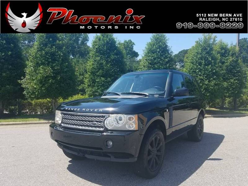 2007 Land Rover Range Rover Supercharged 4dr SUV 4WD for sale by dealer