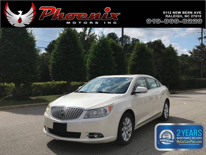 2012 Buick LaCrosse Premium 1 4dr Sedan for sale by dealer