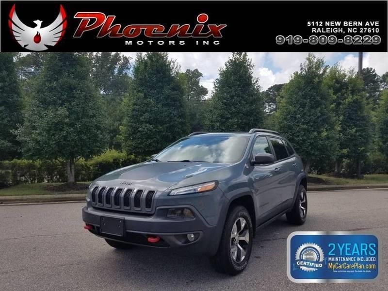 2014 Jeep Cherokee Trailhawk 4x4 4dr SUV for sale by dealer
