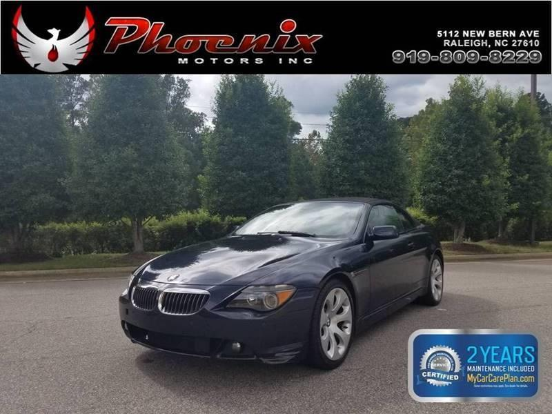 2007 BMW 6 Series 650i 2dr Convertible for sale by dealer