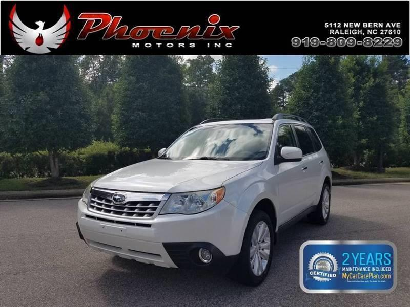 2011 Subaru Forester 2.5X Limited AWD 4dr Wagon for sale by dealer