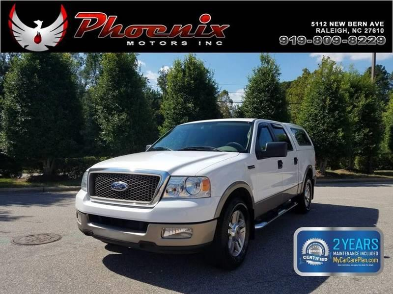 2005 Ford F-150 Lariat 4dr SuperCrew Rwd Styleside 5.5 ft. SB for sale by dealer
