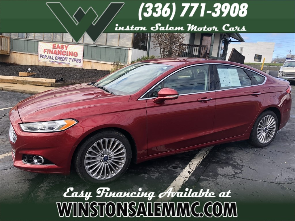 2016 Ford Fusion Titanium for sale in Winston-Salem
