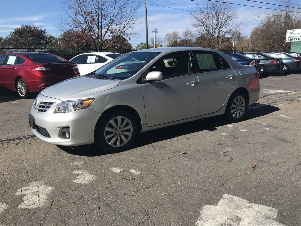 2013 Toyota Corolla S  for sale in Winston-Salem