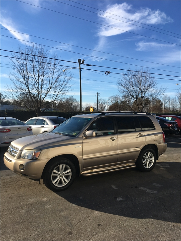 2006 Toyota Highlander Hybrid Limited 2WD for sale in Winston-Salem