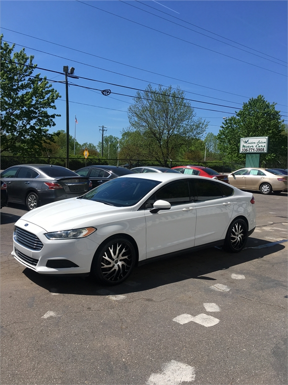 2014 Ford Fusion S for sale in Winston-Salem