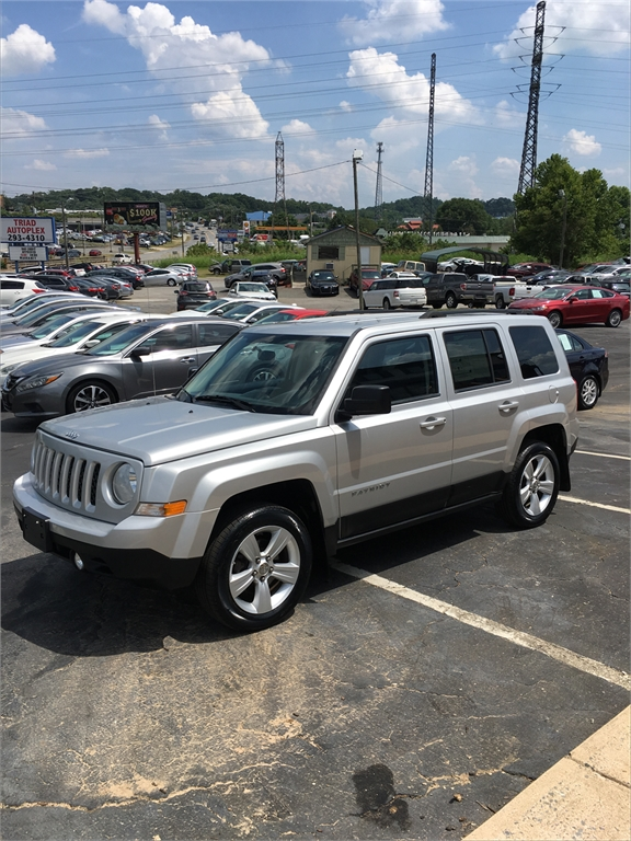 2012 Jeep Patriot Latitude 4WD for sale in Winston-Salem