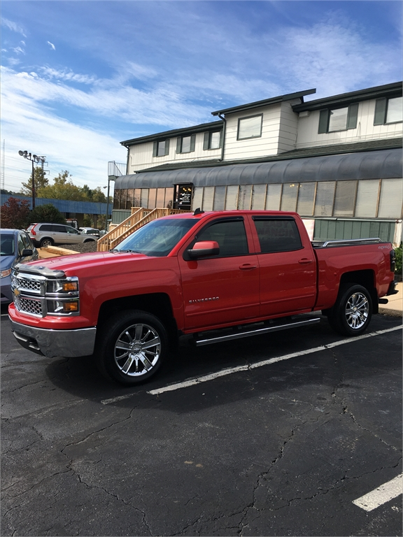 2015 Chevrolet Silverado 1500 LT Crew Cab 4WD for sale in Winston-Salem
