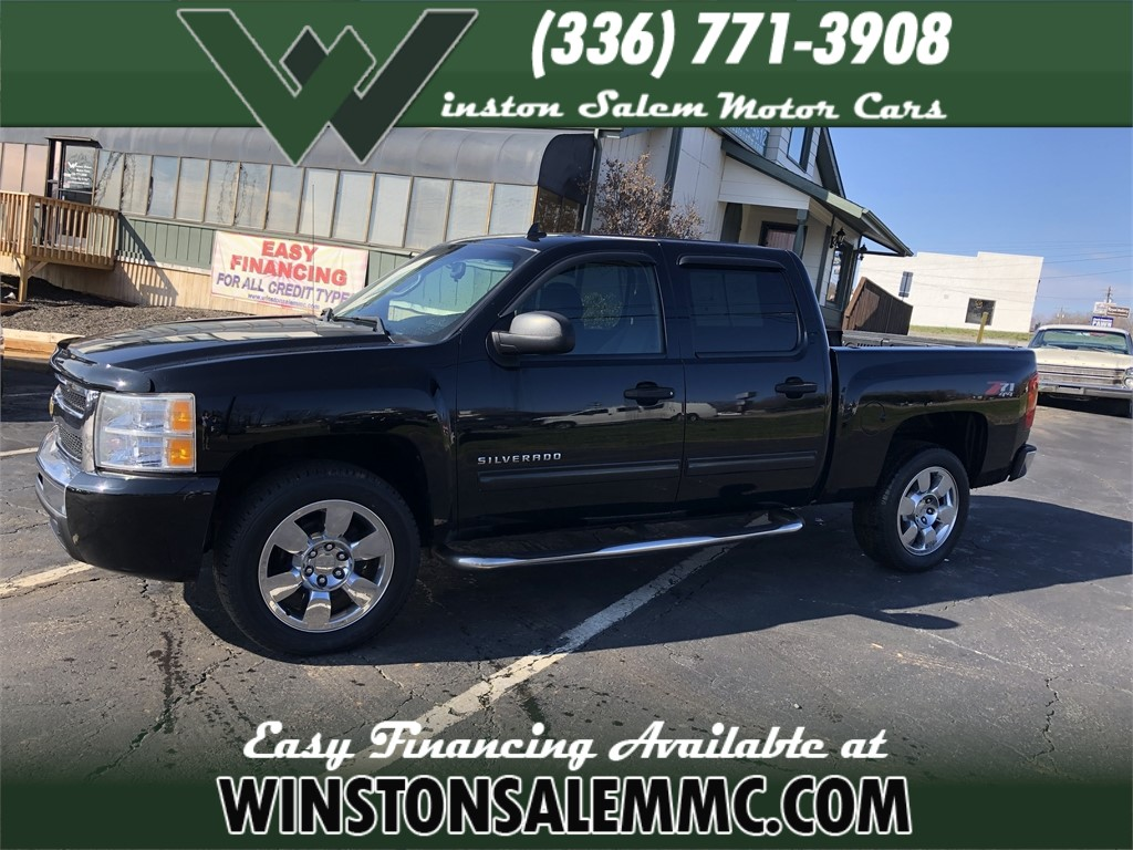2010 Chevrolet 1500 Silverado Crew Cab Z71 for sale in Winston-Salem