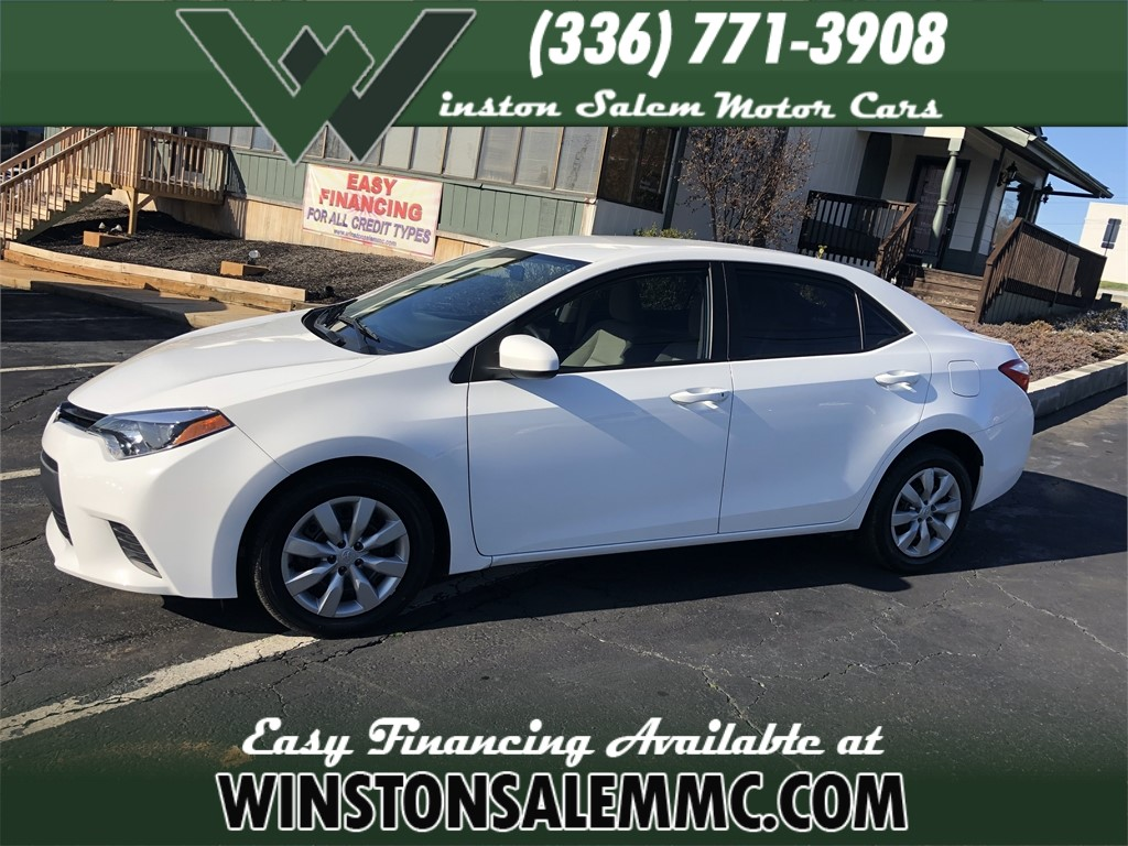 2014 Toyota Corolla LE for sale in Winston-Salem