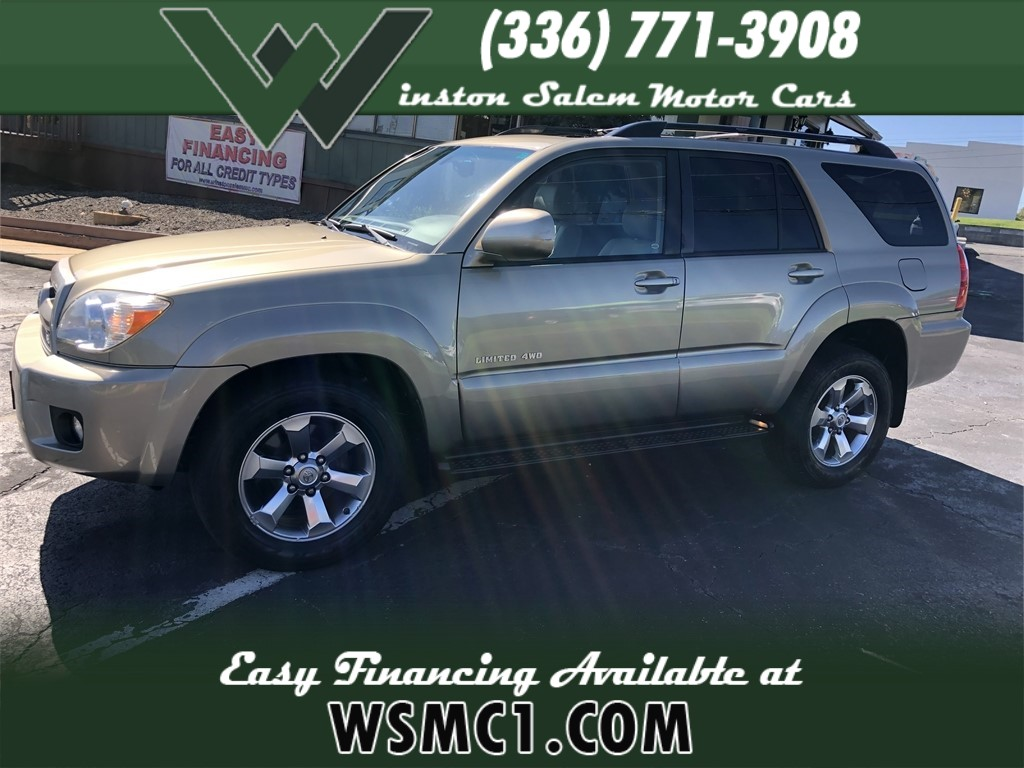 2007 Toyota 4Runner Limited 4WD V8 for sale in Winston-Salem