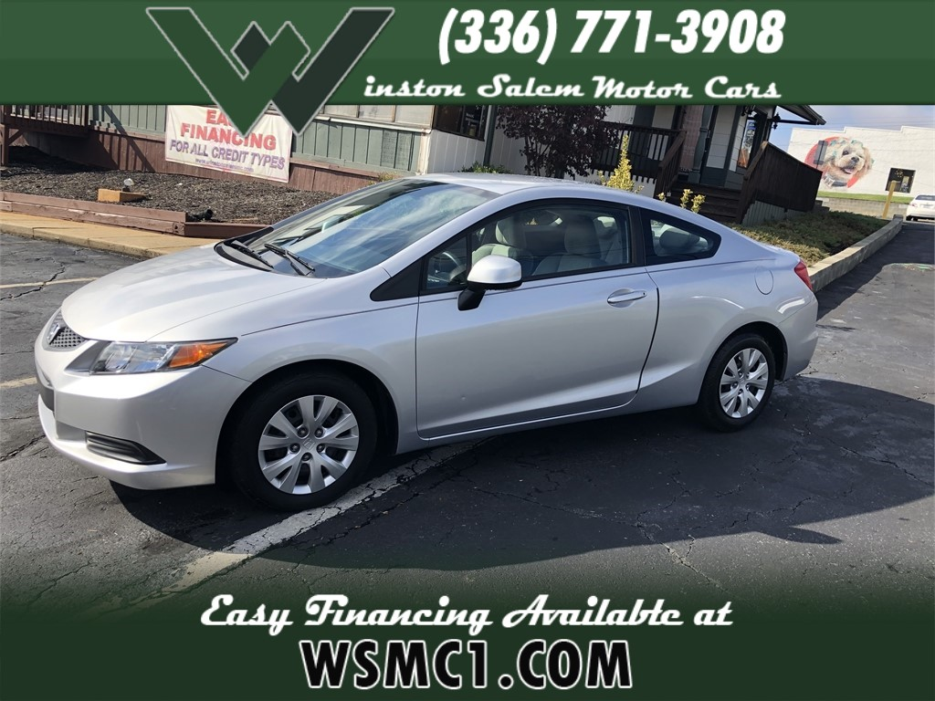 2012 Honda Civic LX Coupe  for sale in Winston-Salem