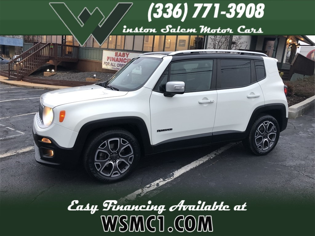 2016 Jeep Renegade Limited FWD for sale in Winston-Salem