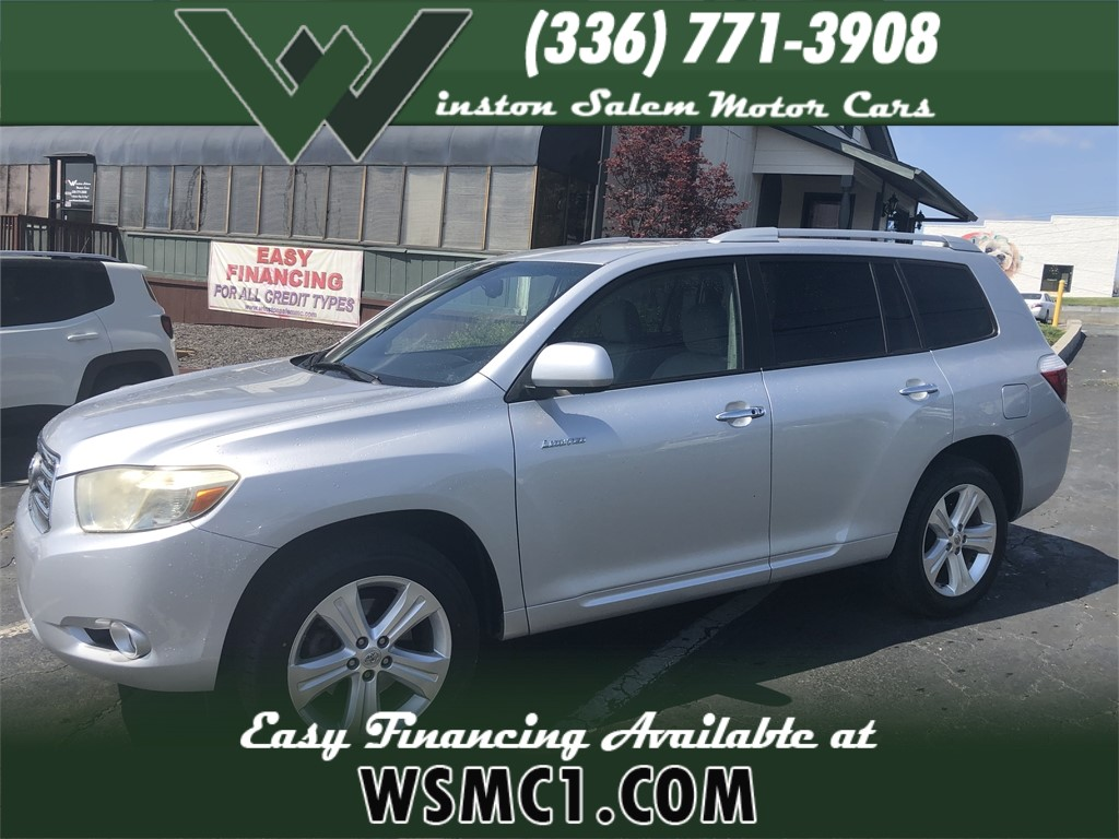 2008 Toyota Highlander Limited 2WD for sale in Winston-Salem