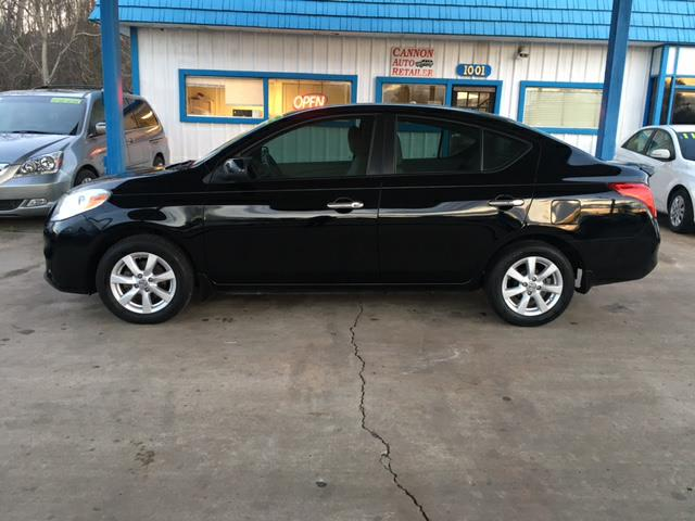 2012 Nissan Versa 1.6 SL Sedan for sale!