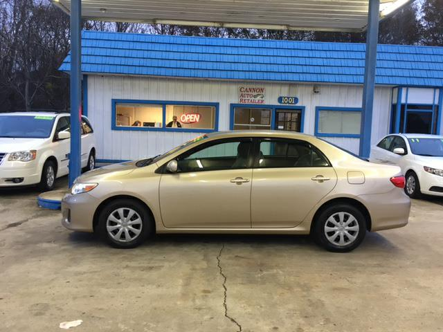 2011 Toyota Corolla LE 4-Speed AT for sale by dealer