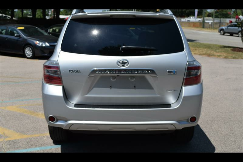 2008 toyota highlander hybrid limited for sale in raleigh. Black Bedroom Furniture Sets. Home Design Ideas