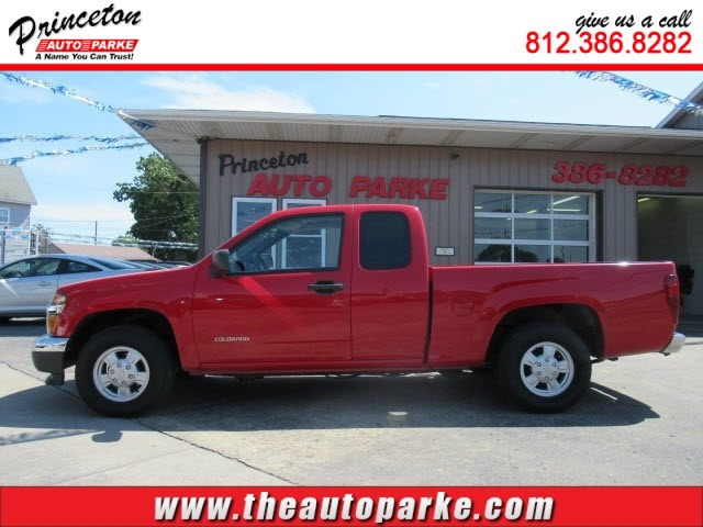 2004 CHEVROLET COLORADO  LS for sale by dealer