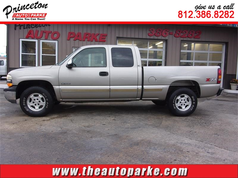 2002 CHEVROLET SILVERADO 1500 XCAB for sale by dealer