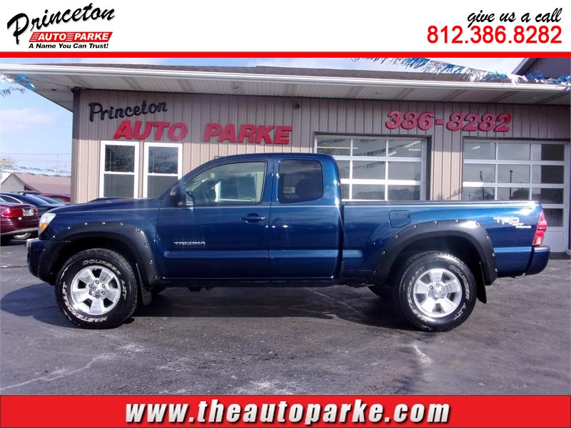 2008 TOYOTA TACOMA ACCESS CAB for sale in Princeton