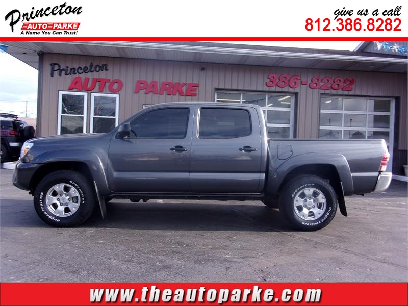 2014 TOYOTA TACOMA DOUBLE CAB for sale in Princeton
