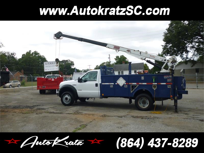 2005 FORD F550  for sale by dealer