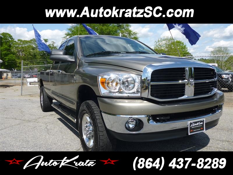 2006 Dodge Ram 2500 Laramie Quad Cab Long Bed 4WD for sale by dealer