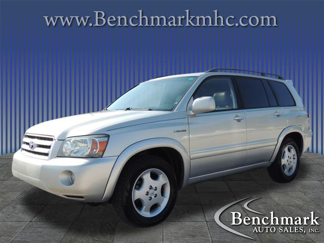 2004 Toyota Highlander Limited for sale by dealer