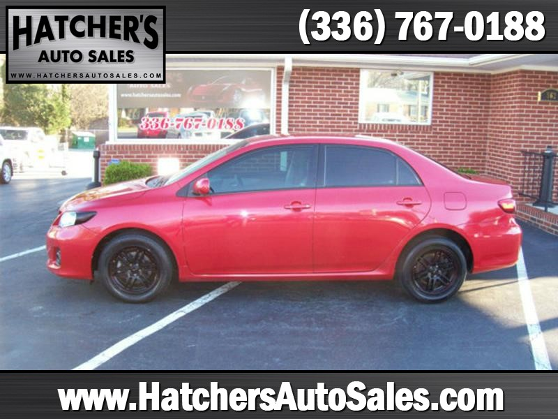 2011 Toyota Corolla LE 4dr Sedan 4A for sale by dealer