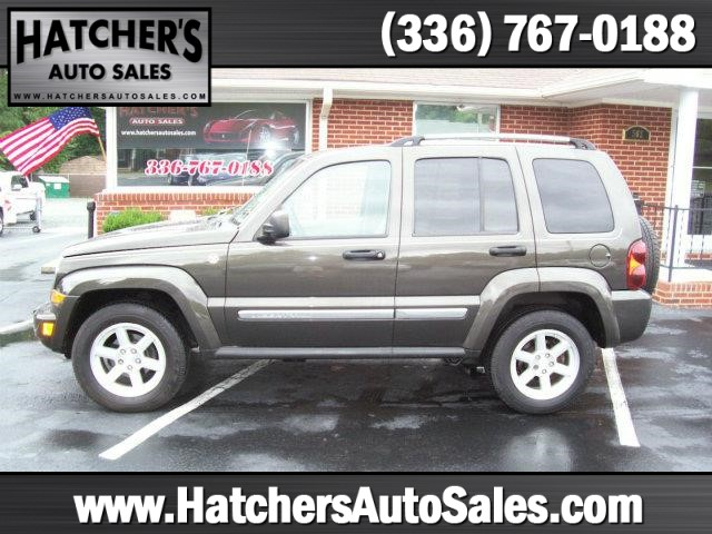 2006 Jeep Liberty Limited 4dr SUV 4WD w/ Front Side Curtain Airbags Winston-Salem NC