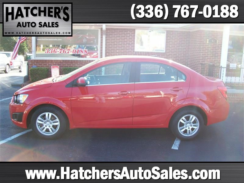 2013 Chevrolet Sonic LT Auto Sedan for sale by dealer
