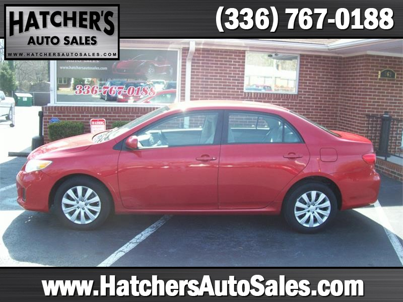 2012 Toyota Corolla LE 4-Speed AT Winston-Salem NC