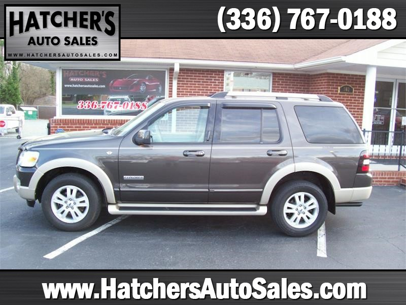 2007 Ford Explorer Eddie Bauer 4.6L 4WD for sale by dealer